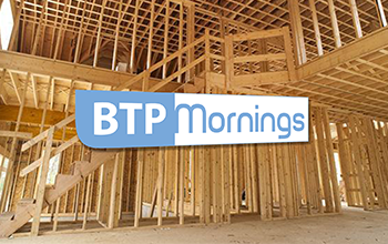 Logo BTP Morning bleu