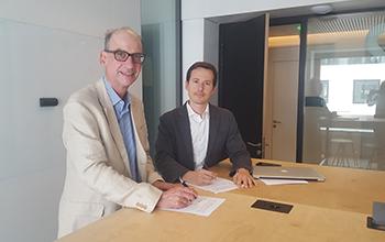Signature partenariat Patrick Vrignon
