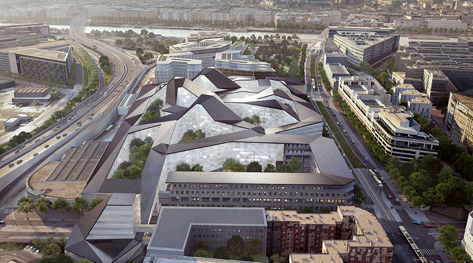Hexagone-Balard Ministère de la Défense Paris