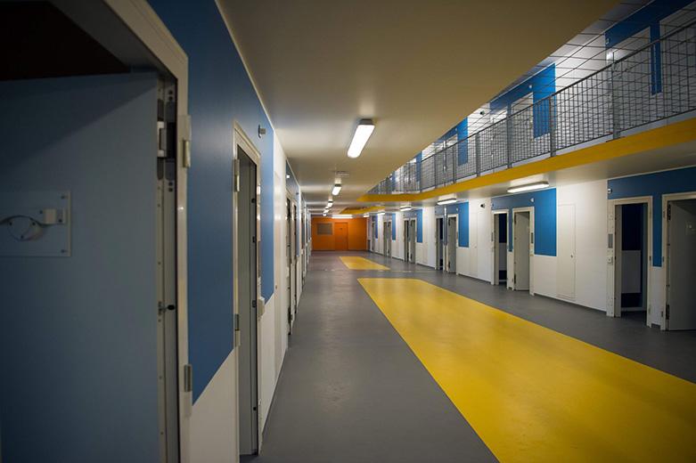 Prison les Baumettes II Marseille