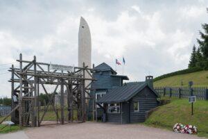 Ancien camp du Struthof porte