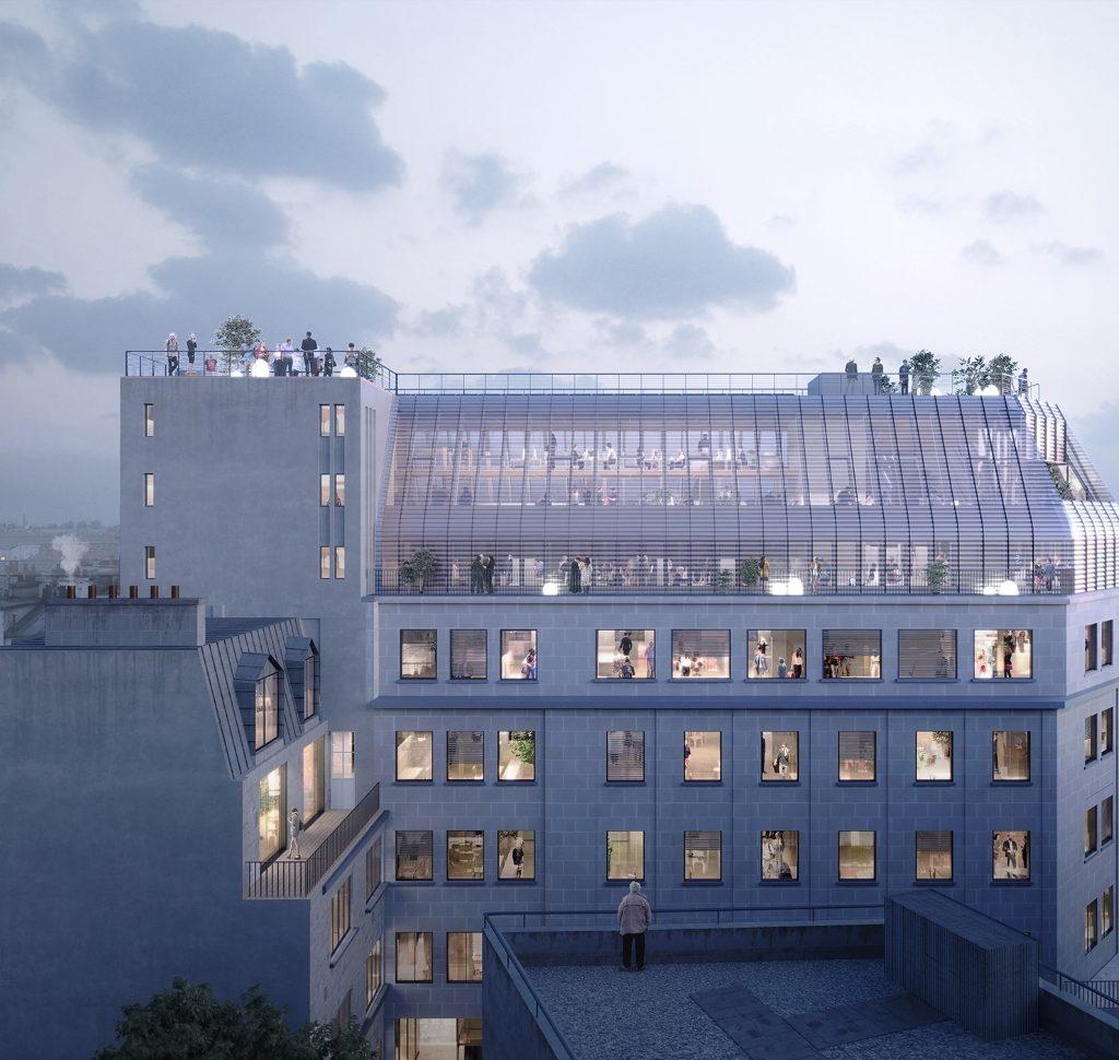 Immeuble de bureaux 7 rue de Madrid Paris