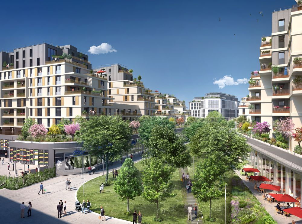 Issy coeur ville Issy-les-Moulineaux