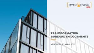 Transformation bureaux logements